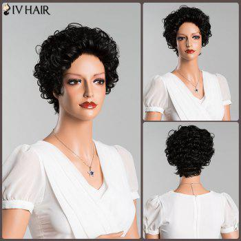 Curly Short Pure Color Human Hair Wig