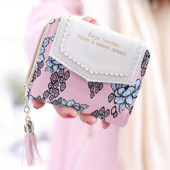 Tassels Floral Small Wallet