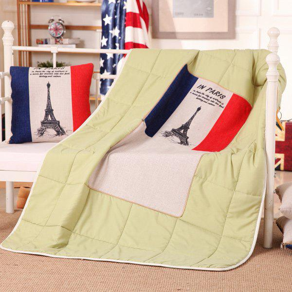 Dual Use 2 In 1 Office Sofa Cushion Square Pillow Nap Quilt