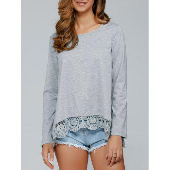 Lace Patchwork T-Shirt