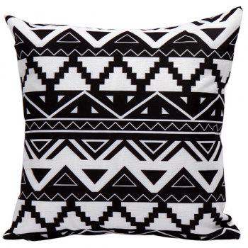 Geometrics Decorative Sofa Bed Super Soft Pillow Case