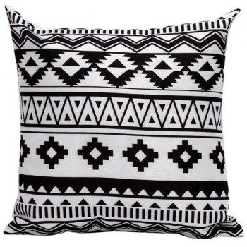 Geometrics Pattern Decorative Sofa Bed Super Soft Pillow Case
