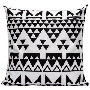 Geometrics Triangles Decorative Super Soft Household Pillow Case