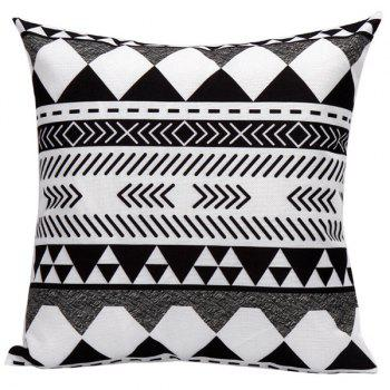 Geometrics Lines Decorative Sofa Bed Super Soft Pillow Case