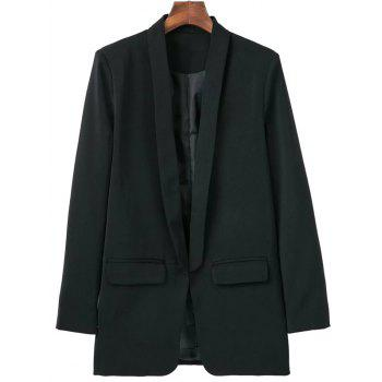 Pocket Design Shawl Collar Blazer