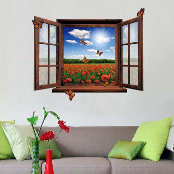 Wall sticker cheap casual style online free shipping at for Stickers murali 3d