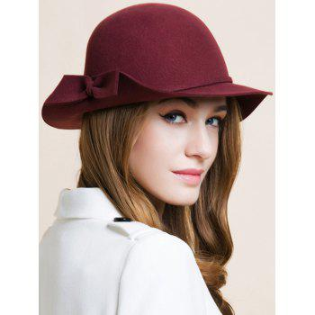 Outdoor Bowknot Edge Dome Hat