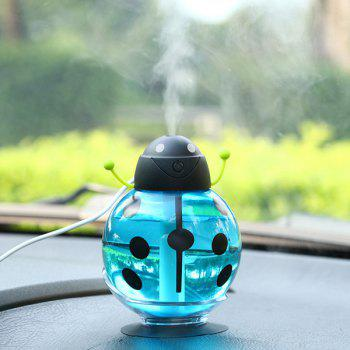 Ménage USB Mute Beetle Shape Diffuser Spray Fogger Humidifier - Bleu