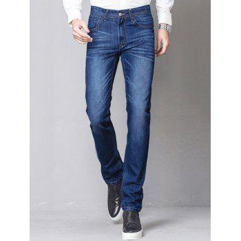Slim-Fit Straight Leg Zip-Fly Jagger Jeans