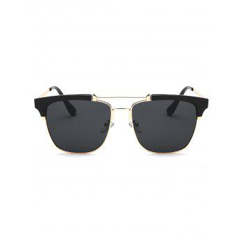 Cool Crossbar Metal Frame Butterfly Sunglasses