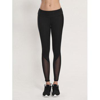 Voile Bodycon Yoga Leggings