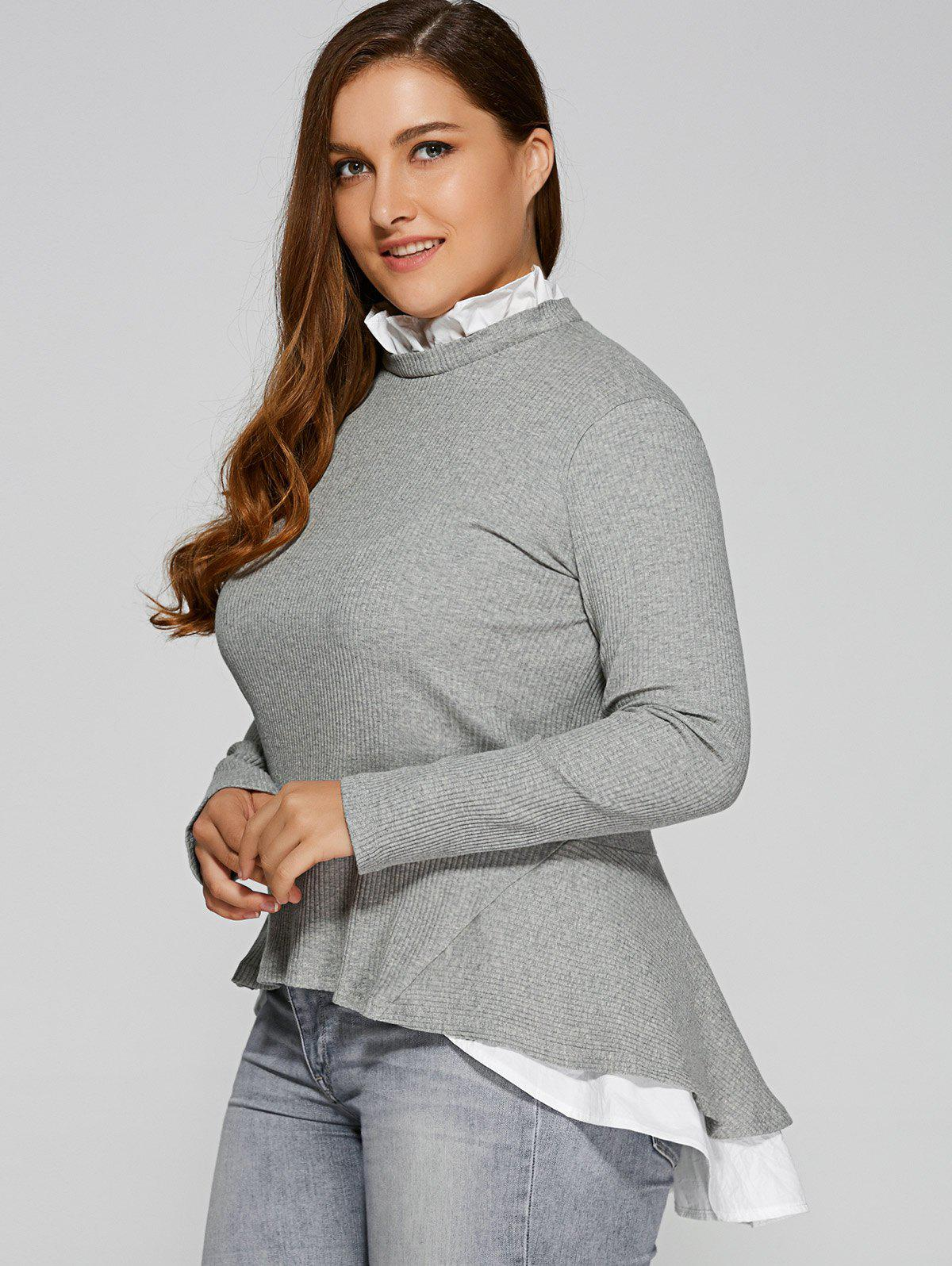 Plus size cardigan dress sweaters