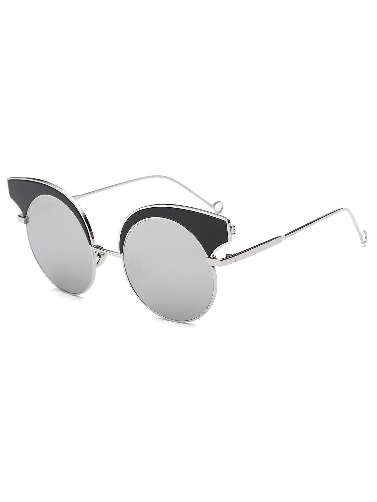 Cool Round Lens Butterfly Mirror Sunglasses cool round lens butterfly mirror sunglasses