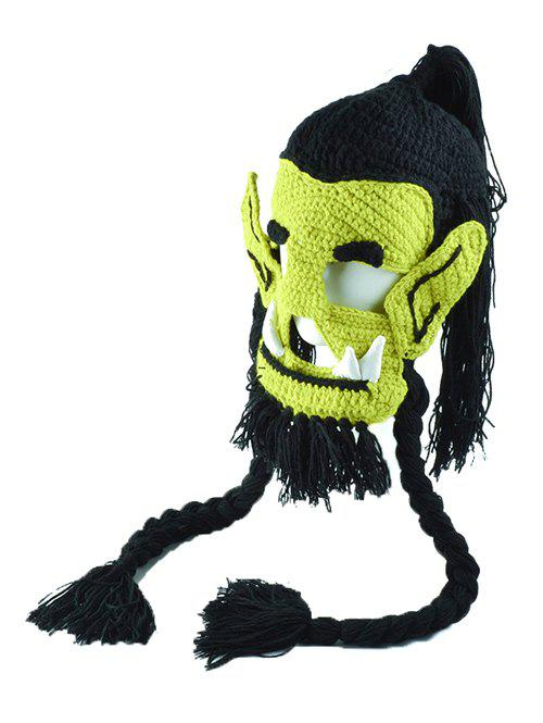 Handmade Knitted Easter Monster Mask Hat набор из 2 х кашпо ротанг виолетпласт