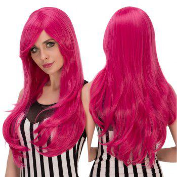Long Wavy Tail Adduction Oblique Bang Lolita Wig