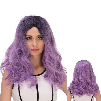 Ombre Long Centre Parting Wavy Synthetic Lolita Wig