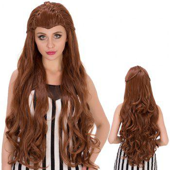 Elves Long Wavy With Braids Heat Resistant Fiber Wig