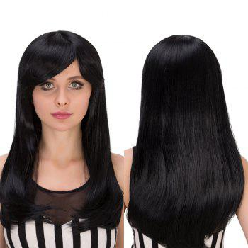Gorgeous Long Tail Adduction Side Bang Heat Resistant Fiber Wig