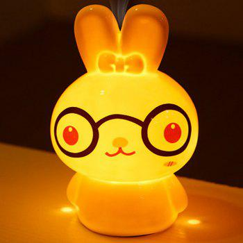 Drive Midge Essential Oil Purify Air Cartoon Ceramic BeiBei Rabbit Night Light