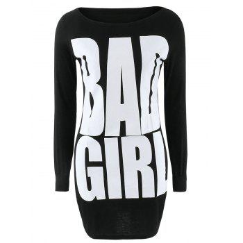 Bad Girl Graphic Slimming Dress