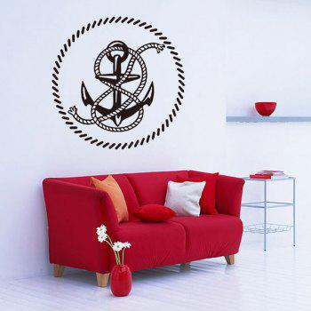 Creative Anchor Removable Waterproof Room Decor Wall Stickers
