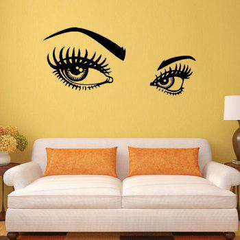95*42CMCharming Eyes Pattern Removable Room Decor Wall Stickers