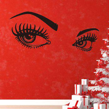 130*57CMCharming Eyes Pattern Removable Room Decor Wall Stickers