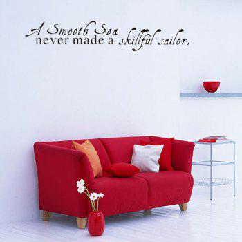 Motivational Quote Removable Wall Stickers Room Decoration