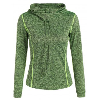 Sports Wear Drawstring Hoodie