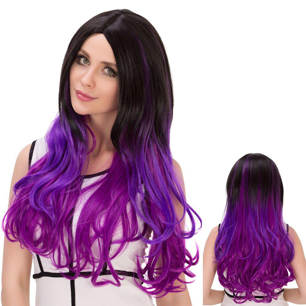 Centre Parting Long Ombre Wavy Synthetic Lolita Wig centre speaker