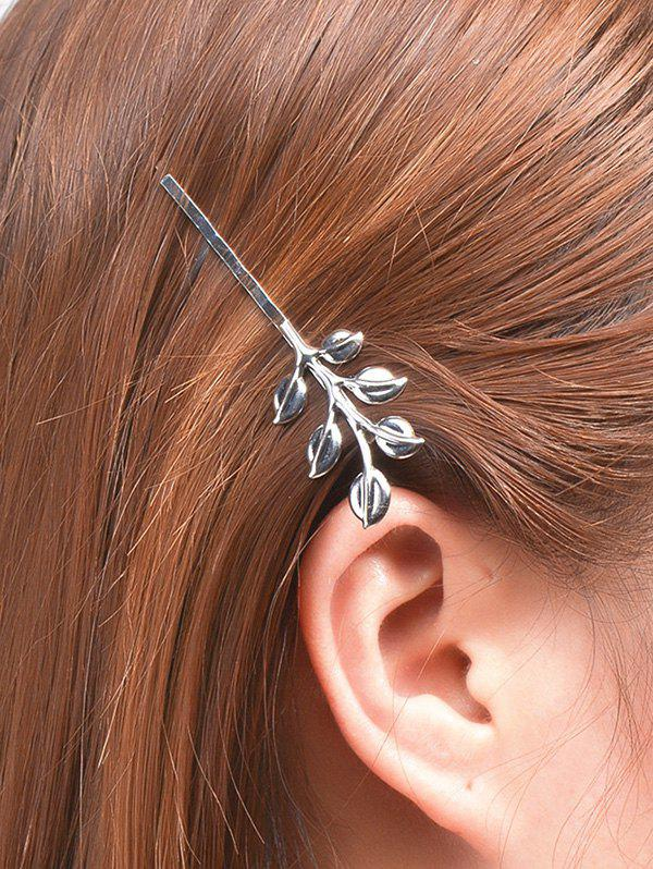 Alloy Leaves Hair Accessory newborn photography props child headband baby hair accessory baby hair accessory female child hair bands infant accessories