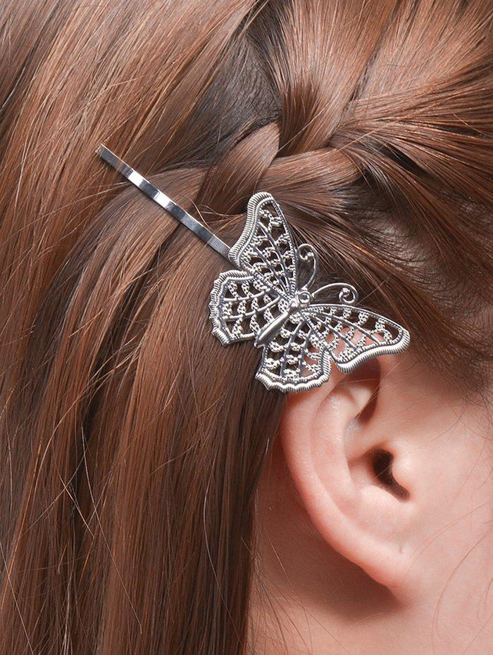 Alloy Butterfly Hair Accessory newborn photography props child headband baby hair accessory baby hair accessory female child hair bands infant accessories