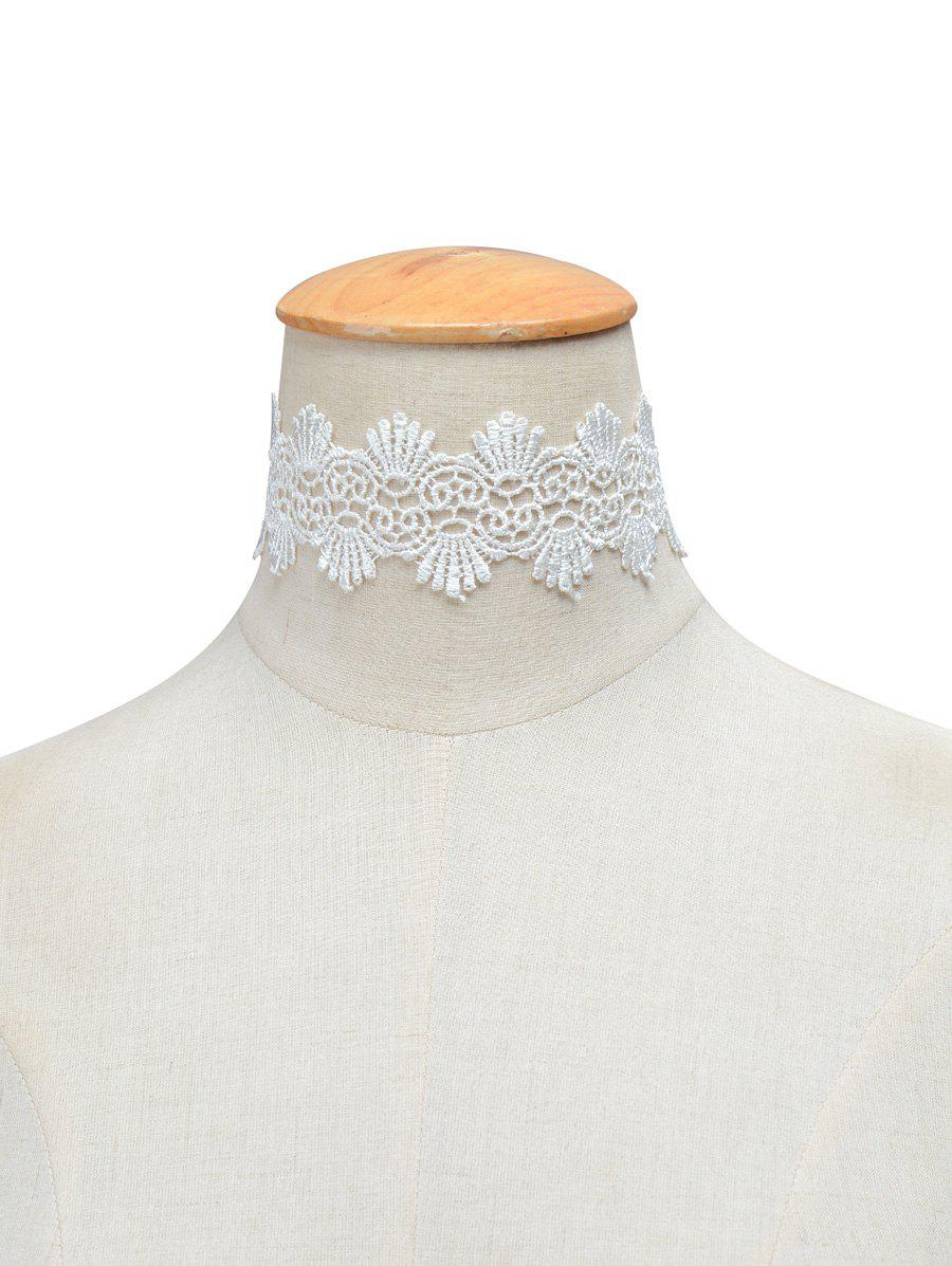 Vintage Knitted Choker Necklace