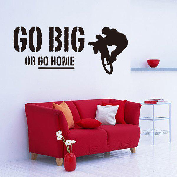 motivational famous quote removable room decor wall
