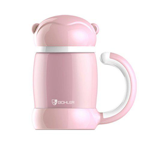Cartoon Garder chaud Bouteille Home Office eau Thermos - Rose