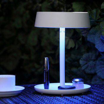 Multifonction charge LED Make Up Home Decor Miroir Lampe - Blanc