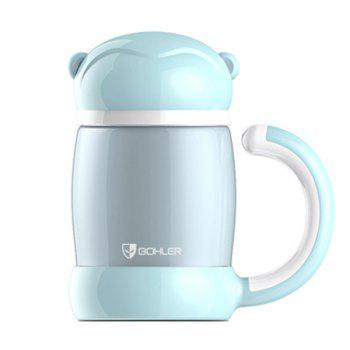 Cartoon Keeping Warm Office Home Water Thermos Bottle - BLUE BLUE
