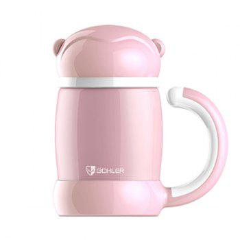 Cartoon Keeping Warm Office Home Water Thermos Bottle - PINK PINK