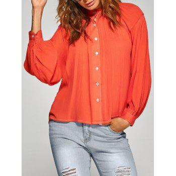 Loose Ruched Shirt
