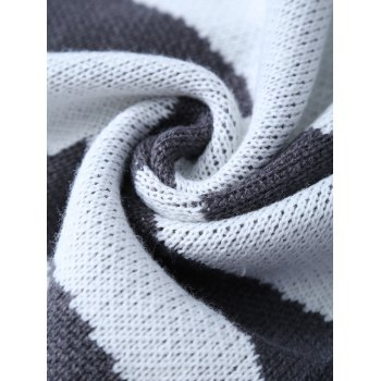 Confortable Fishbone kintted Wrap enfants Mermaid Tail Blanket - Gris Foncé