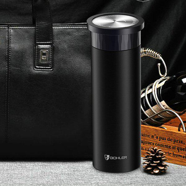Hot Sale Travelling Stainless Steel Business Thermos Bottle - BLACK