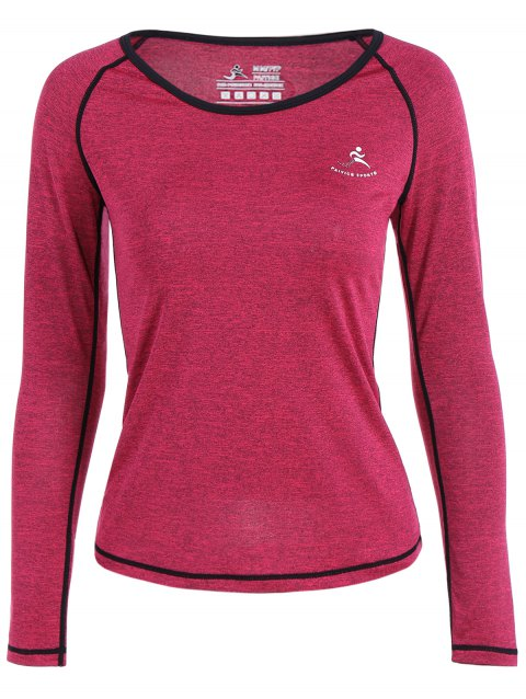 Heather Pullover T-Shirt - Rouge Rose S