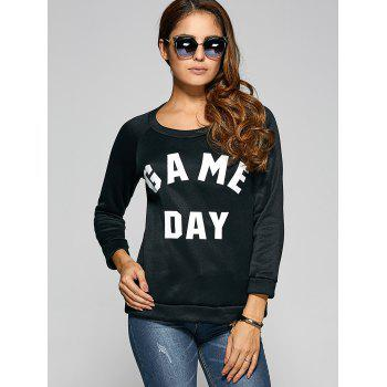 Game Day Print Pullover Sweatshirt