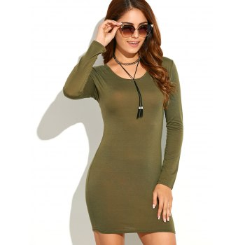 Robe à manches longues Skinny - RAL Olive Jaune S