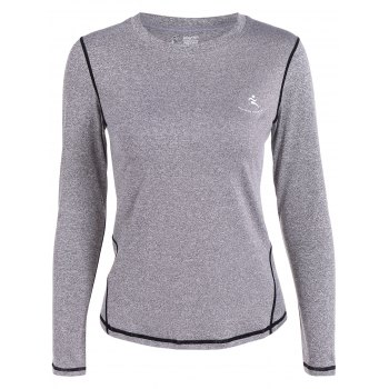 Fit Long Sleeve Gym T-Shirt