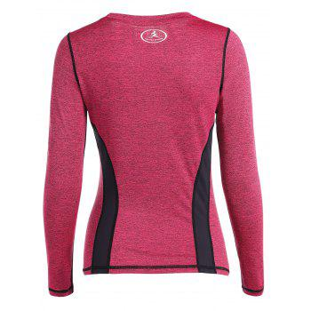Respirant Heather Pullover T-Shirt - rose S