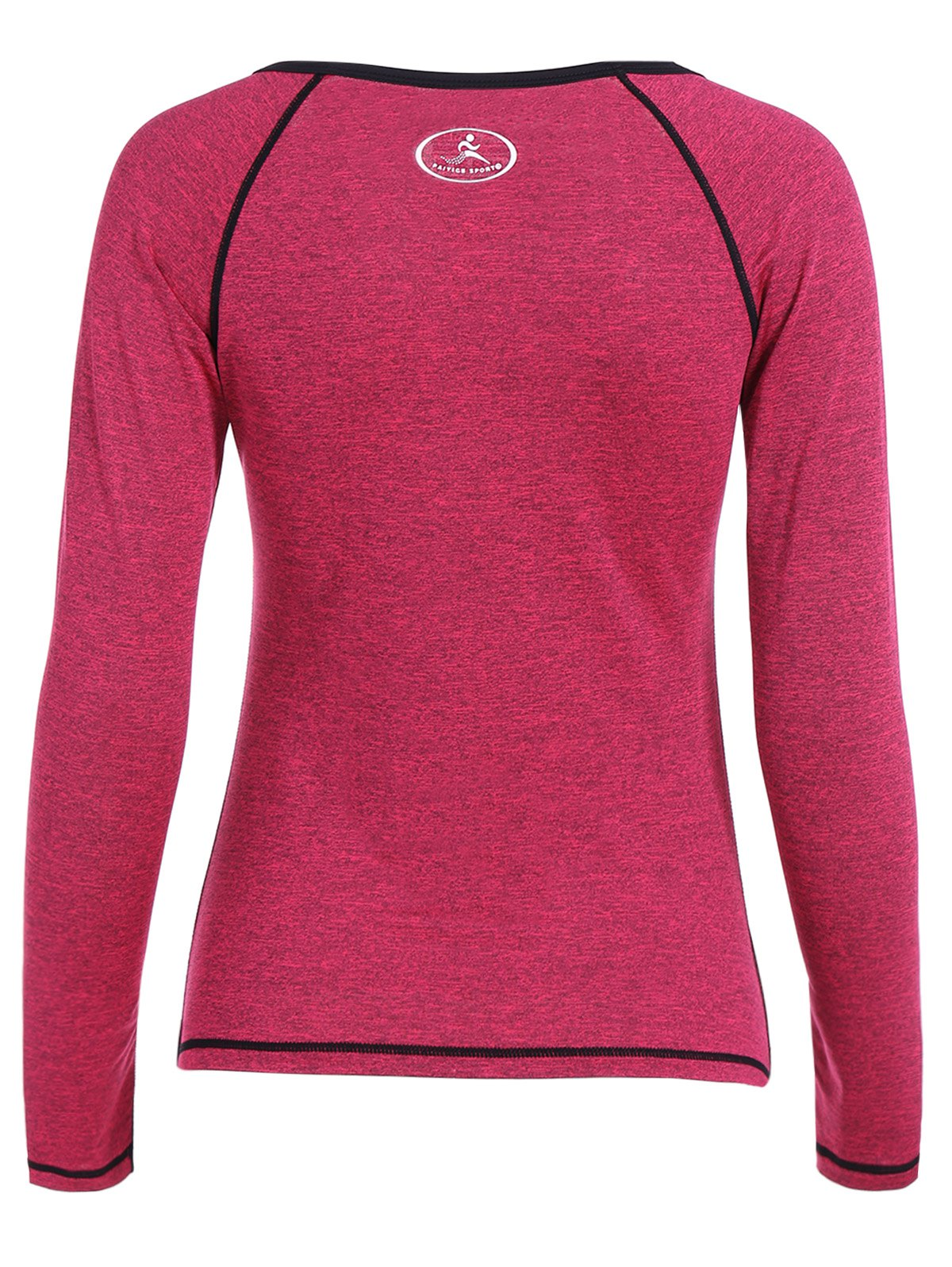 Heather Pullover T-Shirt - rose S