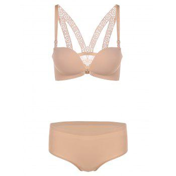 Push-Up Paddad Seamless Bra and Panty Set