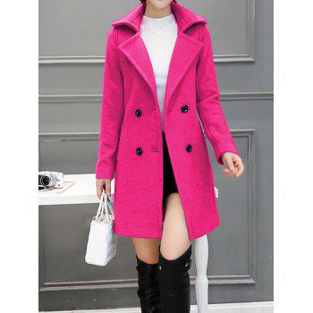 Wool Blend Walker Peacoat