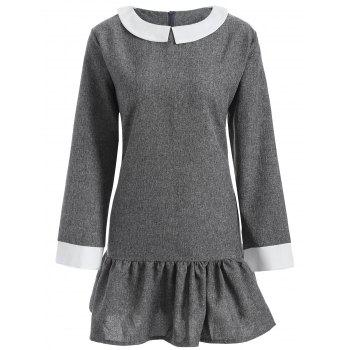 Plus Size Peter Pan Collar Dress